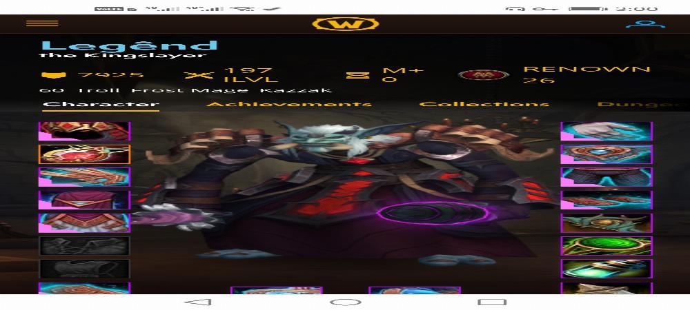 فروش اکانت بلیزارد شادولند Epic دارای 3 هیروی لول 60، Paladin_Demonhunter_mage