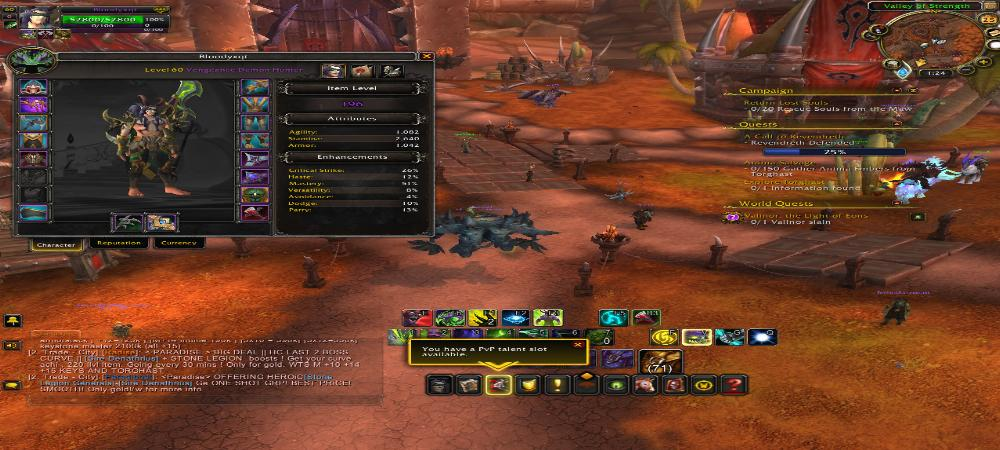 Demon Hunter Tank Ilvl 196